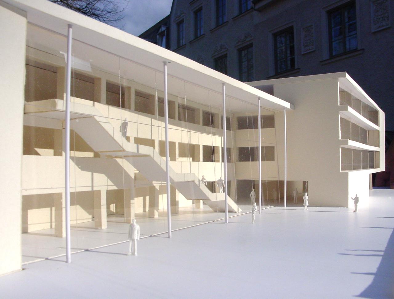 Bozen, Wettbewerb Humanistisches Gymnasium G. Carducci