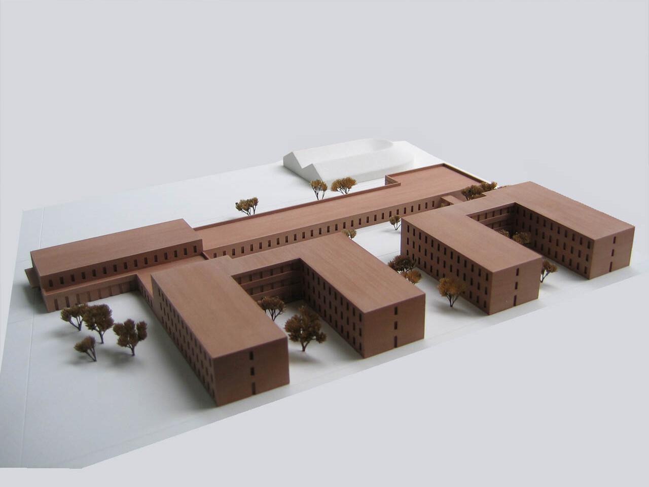 Wettbewerb Berlin, Justizvollzugsanstalt Düppel