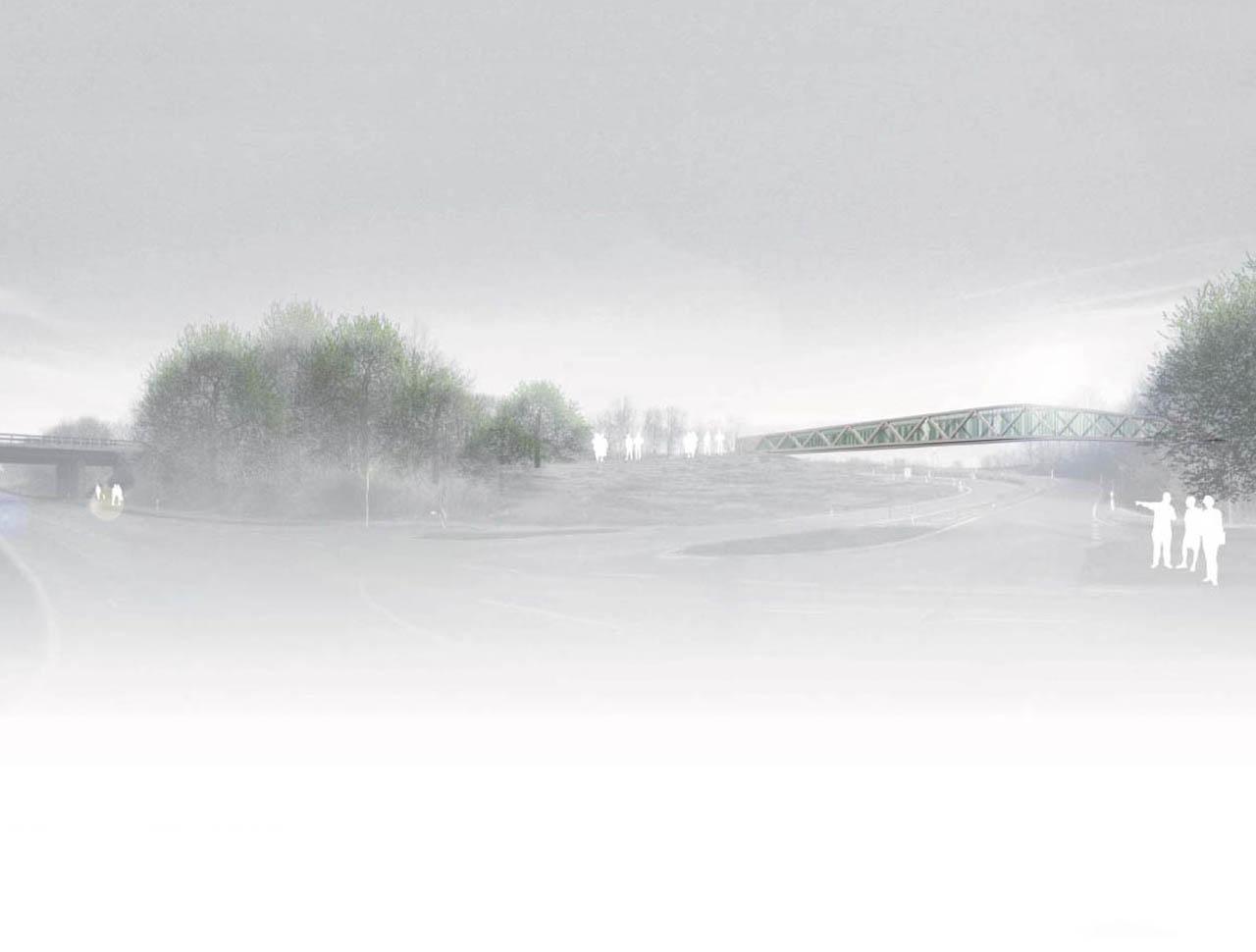 Wettbewerb Fuß- und Radwegbrücken zur impuls-Arena Augsburg