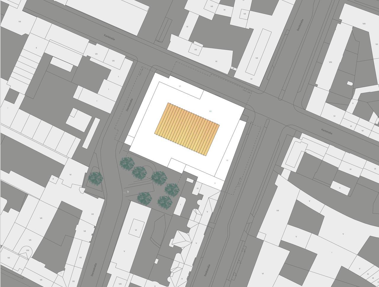 Entwurf Ziviljustizzentrum München