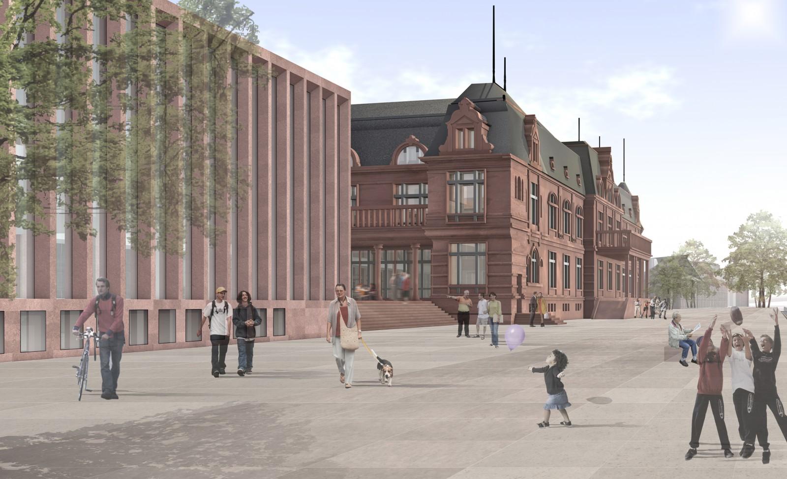 Wettbewerb Kongresszentrum Stadthalle Heidelberg