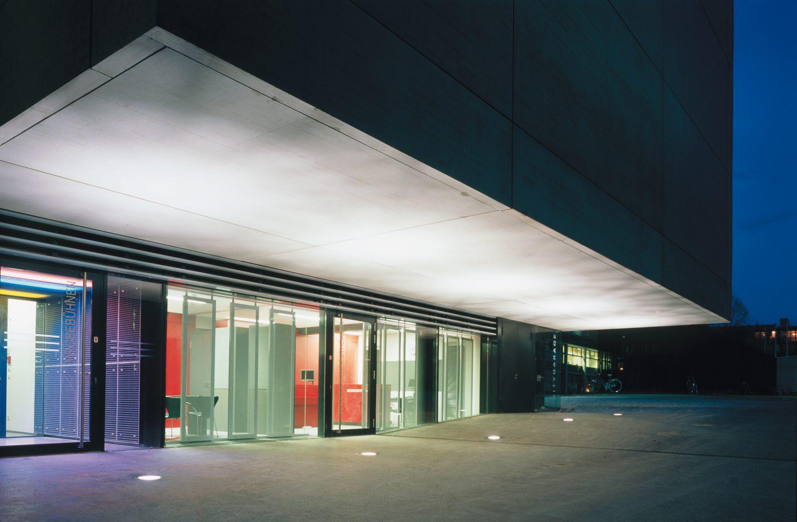Tiroler Landestheater, Innsbruck, Österreich, Neubau eines Probengebäudes sowie Aufstockung und Reorganisation des Betriebsbereichs
