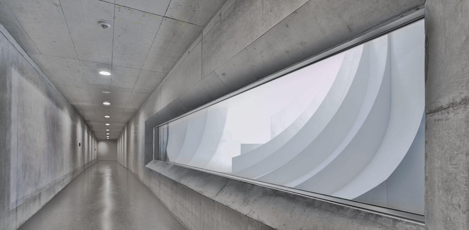 Justizvollzugsanstalt Regensburg, Besuchertunnel