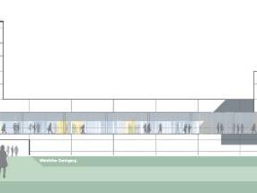 Wettbewerb Fachhochschule Kempten, Neubau für Technik und Sozialwissenschaften