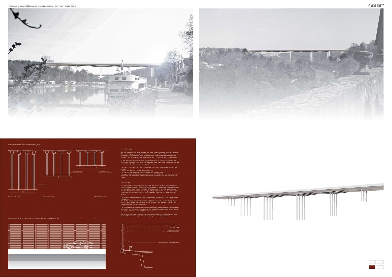 Wettbewerb Lahntalbrücke, Limburg