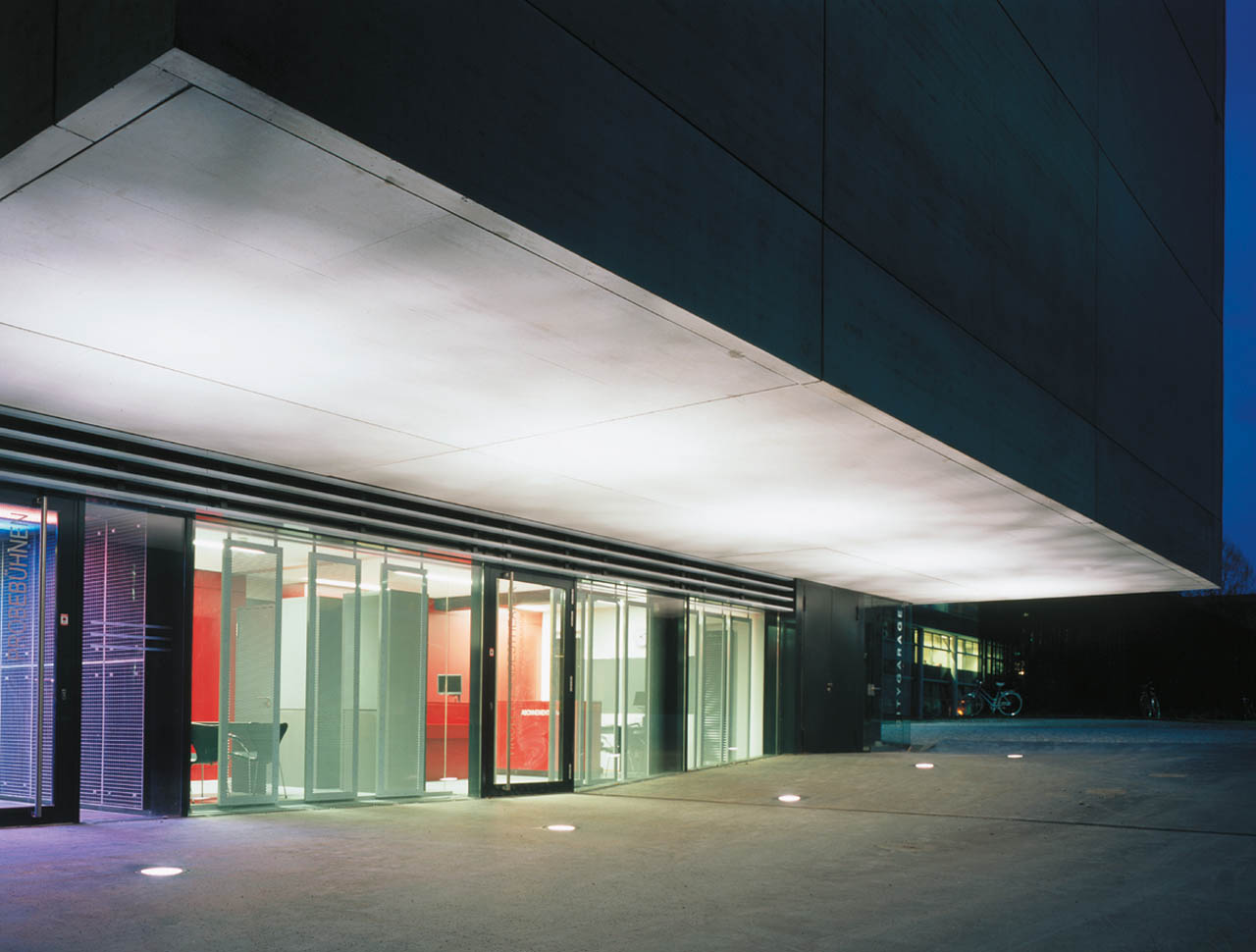 Tiroler Landestheater, Neubau Probengebäude, Innsbruck, Österreich