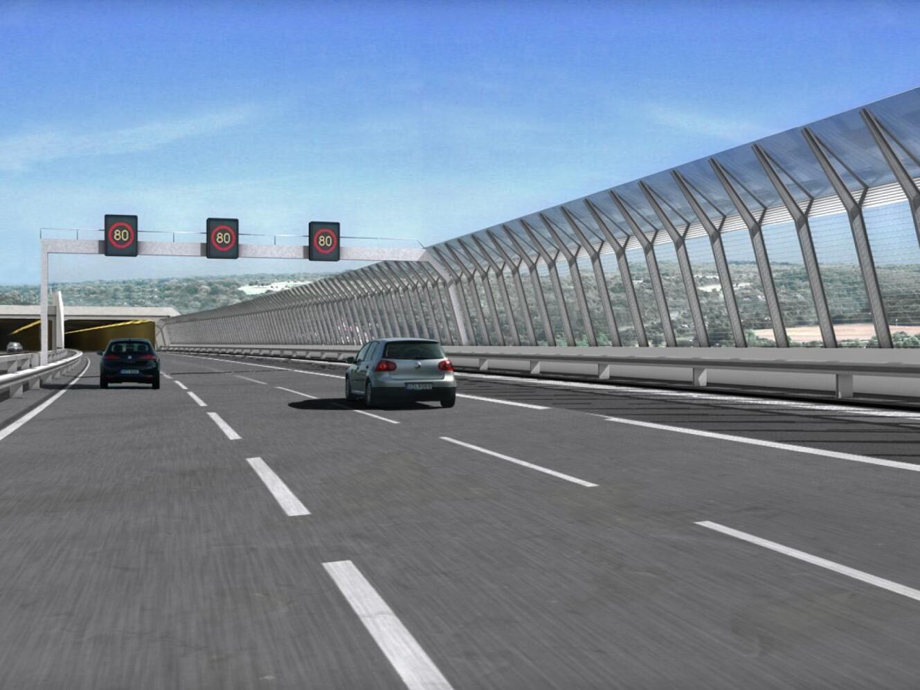 Talbrücke Heidingsfeld, Visualisierung