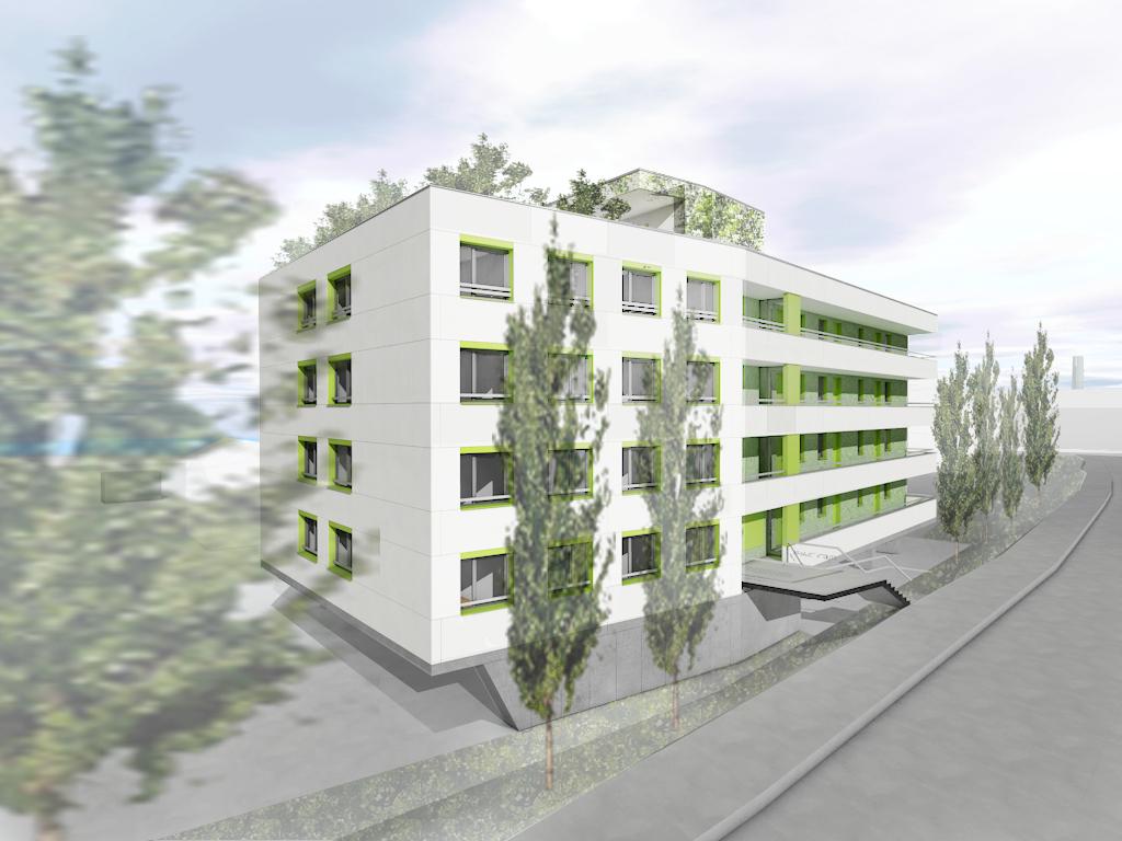 Neubau Studierendenwohnheim, Pfarrkirchen