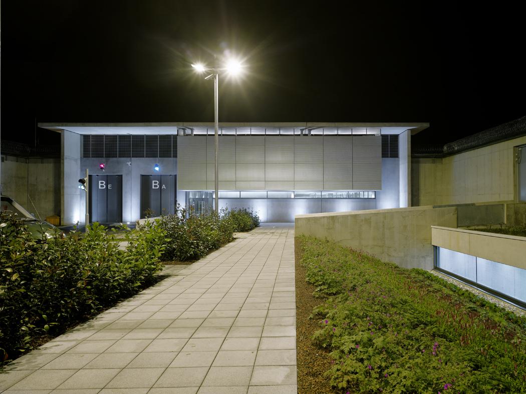 Neubau Torwachgebäude, Justizvollzugsanstalt Stuttgart-Stammheim