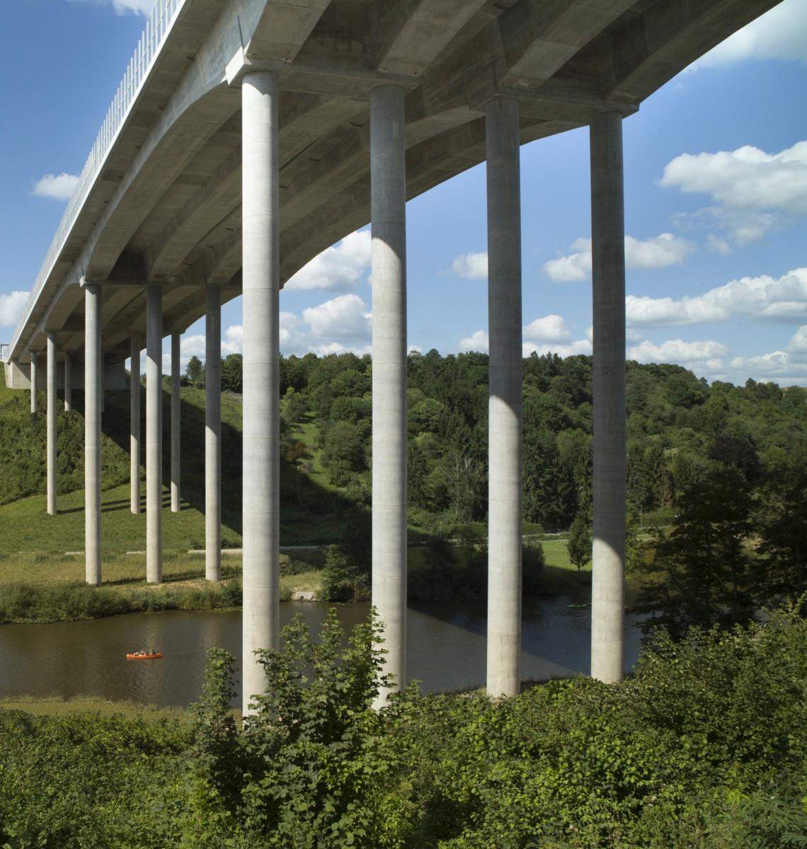 Limburg, Neubau Lahntalbrücke
