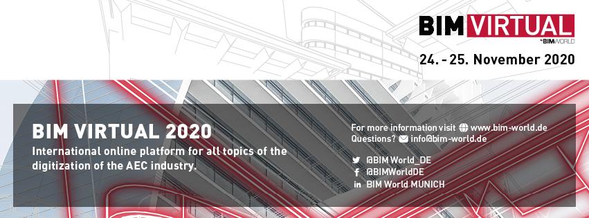 karlundp goes BIM VIRTUAL 2020