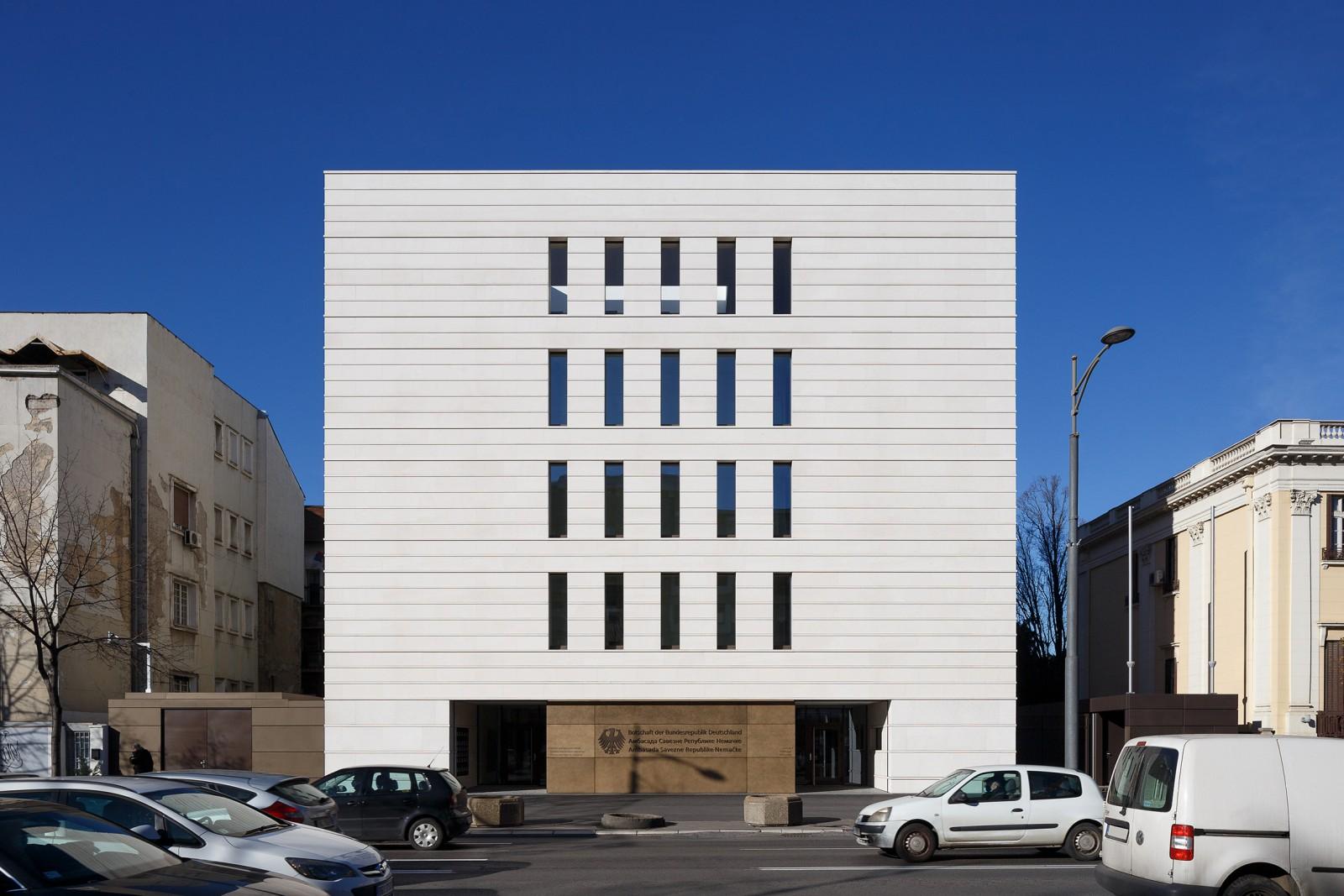 Neubau Kanzleigebäude der Deutschen Botschaft, Belgrad